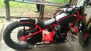 Download woooow kereeen Honda tiger modif harley davidson Video