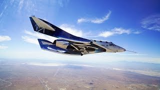 Download VSS Unity second successful supersonic, rocket-powered flight (4K) Video