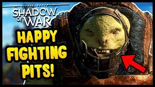 Download THE BEST OF THE FIGHTING PITS | Middle Earth: Shadow of War - Gameplay Funny Moments Video