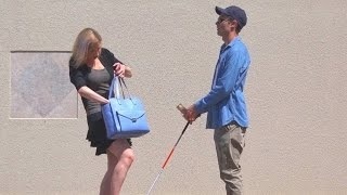 Download Would You Steal Money From a Blind Man? - Social Experiment Video
