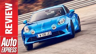 Download Alpine A110 review - new lightweight sports car reminds us what fun is Video