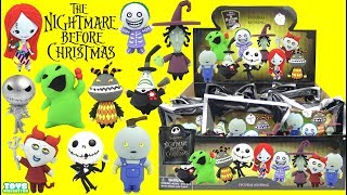 Download Tim Burton's Nightmare Before Christmas Figural Keyrings TOYS Series 3 Video