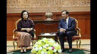 Download Foreign Minister Prak Sokhonn meets with Undersecretary General of UN-ESCAP Video