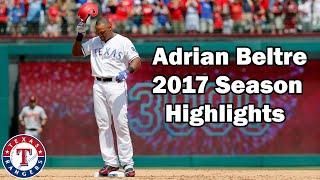 Download Texas Rangers: Adrian Beltre 2017 Highlights [No Music] Video