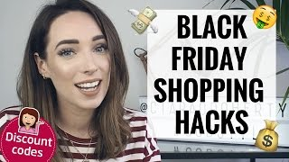 Download BLACK FRIDAY / CYBER MONDAY SHOPPING HACKS & DISCOUNT CODES 💸 CIARA O DOHERTY Video