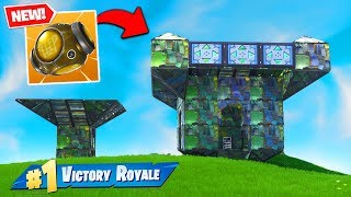 Download The *NEW* Port-A-Fortress BROKE FORTNITE! Video