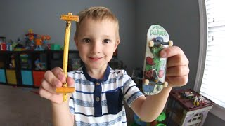 Download HOMEMADE FINGERBOARD!? Video