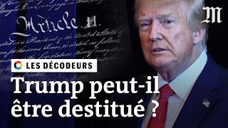 Download Donald Trump peut-il être destitué ? Video