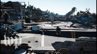 Download 'Ground zero' of Michael's devastation, ride with rescue teams at Mexico Beach Video