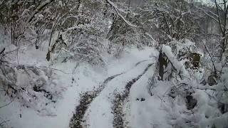 Download Stels ATV 850 Guepard - Vožnja po snegu :) Video