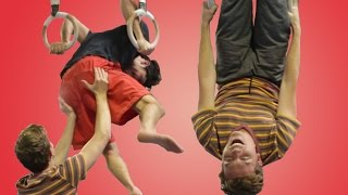 Download People Try Gymnastics For The First Time Video