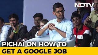 Download How To Get A Google Job Explained By CEO Sundar Pichai Video