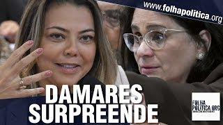 Download Senadora Leila faz abordagem agressiva contra a ministra Damares e recebe resposta surpreendente Video