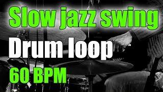 Download Jazz Drum Loop (brushes) | Slow Swing Ballad | 60 BPM Video