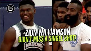 Download Zion Williamson Didn't Miss a Shot In Front of James Harden! Adidas Nations Raw Highlights Video
