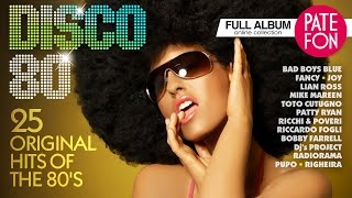 Download DISCO-80 /Various artists/ 25 ORIGINAL HITS OF THE 80'S Video