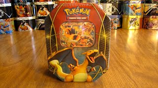 Download Pokemon Charizard EX Tin Opening Video