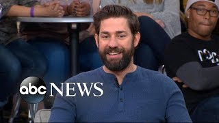 Download John Krasinski opens up about 'A Quiet Place' on 'GMA' Video