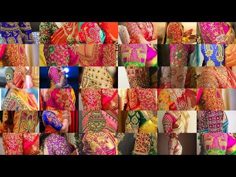 aari work blouse designs | blouse sleeves designs | pattu saree blouse collections | #126
