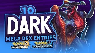 Download 10 DARK MEGA PokeDex Entries In Pokemon Ultra Sun and Ultra Moon! Video