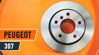 Download Como substituir os discos de travões dianteiros e as pastilhas de travão dianteiras no PEUGEOT 307 Video