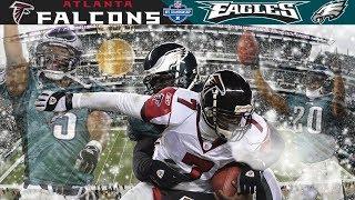 Download Eagles Defense Swarms Vick! (Falcons vs. Eagles, 2004 NFC Champ) | NFL Vault Highlights Video