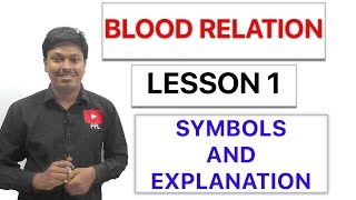 Download BLOOD RELATION - SYMBOLS AND EXPLANATION - Lesson 1 Video