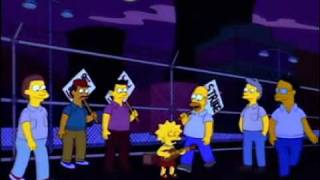 Download The Simpsons - Power Plant Strike Video