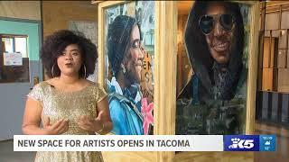 Download New space for artists opens in Tacoma Video