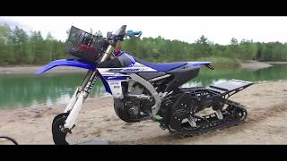 Download Snowbike & Snowmobile on water! [Superretards 2017 SWK] Video