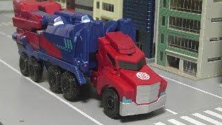 Download Transformers Optimus Prime Toys 트랜스포머 옵티머스 프라임 장난감 Video