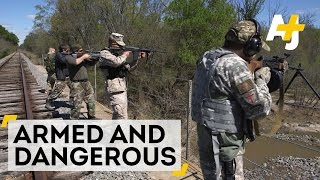 Download Armed and Vigilant: In Fear of a Muslim Uprising in Texas | AJ+ Docs Video
