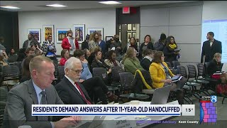 Download Residents demand change after 11-year-old handcuffed Video