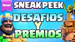Download NUEVOS DESAFÍOS Y NUEVOS MODOS DE JUEGO: TouchDown y Espejo 2c2 | Sneak Peek | Clash Royale Video