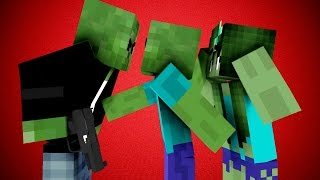 Download Zombies Also Love - Minecraft Animation Video