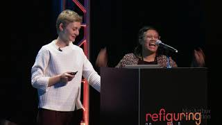 Download Refiguring the Future, A NetGain Event: Heather Dewey-Hagborg, Dorothy Santos Video