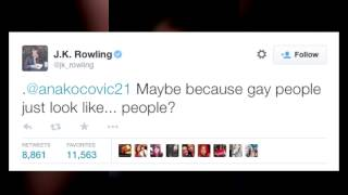 Download J.K. Rowling's Perfect Response to Fan Who 'Can't See' Dumbledore as Gay Video