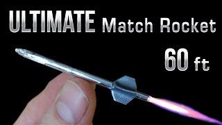 Download Match Rocket - 60 Foot Ultimate Matchbox Rocket Video