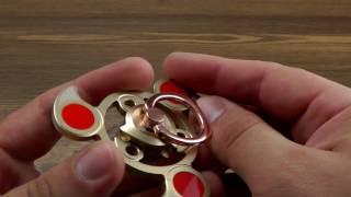 Download ОБЗОР: Металлический Спиннер Fidget Spinner + Крепление на Палец Video