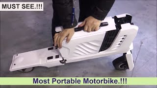 Download Suitcase Scooter - MUST SEE.!!! Video