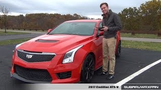 Download Review: 2017 Cadillac ATS-V (Manual) Video