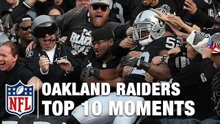 Download Top 10 Moments in Oakland Raider History | NFL Video