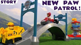Download Paw Patrol with funny Minions Toy Story - Roll Along Toy Trains Playset Toys Family Fun TT4U Video