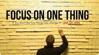 Download Jim Rohn - FOCUS ON ONE THING (Jim Rohn Motivation) Video