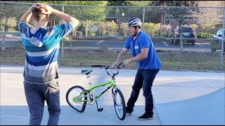 Download DESTROYING A KID'S BIKE & GIVING HIM A BRAND NEW ONE! Video