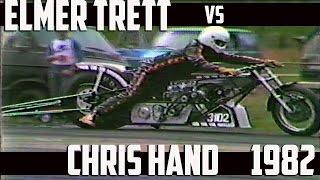 Download Elmer Trett vs Chris Hand 1982 Nitro Top Fuel Motorcycles Video