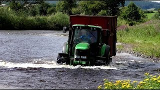 Download Fastrac Tries DEEPER Water, John Deere Has a Go as well. Plus Pitwork. Video