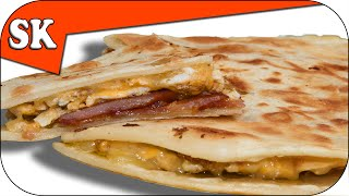 Download BREAKFAST QUESADILLA - With Bacon and Eggs Video