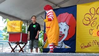 Download Ronald McDonald's Show in Children's Festival - Part 1 Video