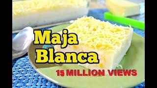 Download Maja Blanca Recipe (Pinoy Coconut Pudding) Video